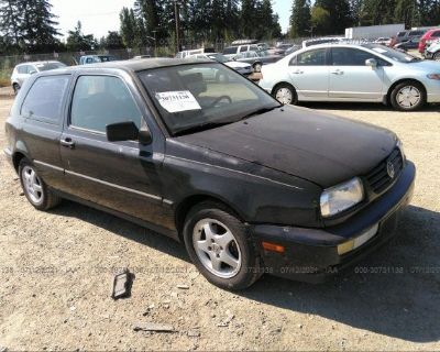 Salvage Black 1998 Volkswagen Gti