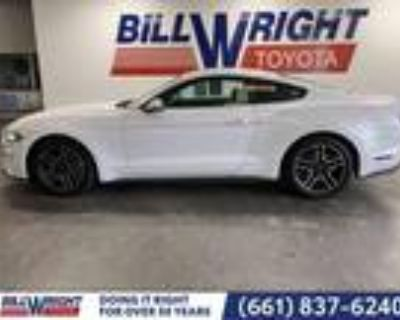 2020 Ford Mustang White, 24K miles