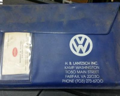 H. B. LanTisch blue owners manual envelope
