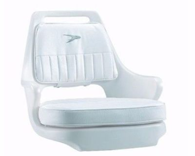 Wise Heavy Duty Pilot Boat Chair - Rotational Molded 8wd0153710 White Marine Lc