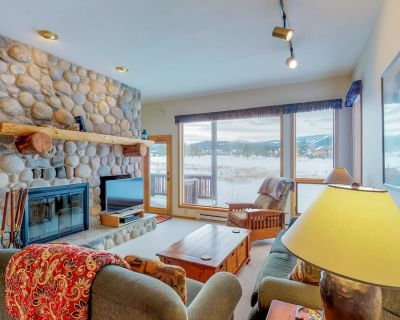 Dog-friendly condo with shared hot tub and swimming pool! - Big Sky Meadow Village