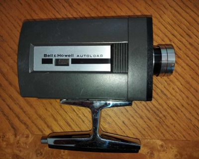 Vintage Bell & Howell Optronic Eye Super Eight Movie Camera , works