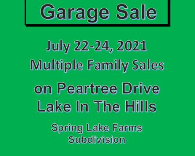 Garage Sale - Multiple Familiy Sales