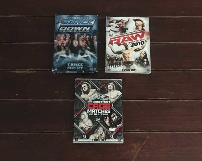 Lot Of 3 WWE DVDs