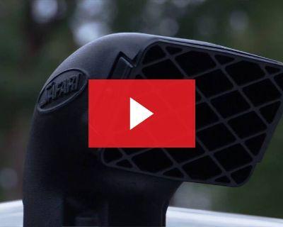 2019-2021 Ford Ranger VSPEC Safari Snorkel System SS983HF