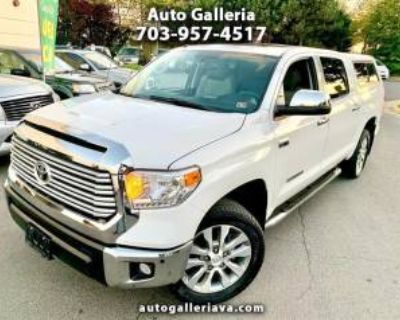 2017 Toyota Tundra Limited CrewMax 5.5' Bed 5.7L 4WD