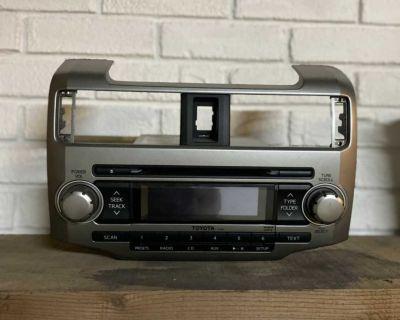 2011 Toyota 4-Runner Radio/CD Player