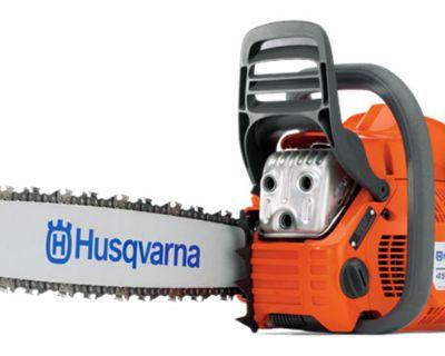 Husqvarna Power Equipment 455 Rancher 20 in. bar 0.058 ga. Chain Saws Gaylord, MI