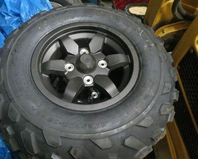 Kawasaki Brute Force Tire And Rims,kvf750 Tires,rims,aluminum Wheels,atv Tires