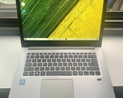 Acer SWIFT 3 - 14 FHD (1920 x 1080) - Quad-Core Intel Core i5-8250U - 8GB DDR4 RAM - 256GB SSD - LIKE NEW