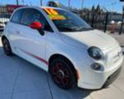 2016 Fiat 500e Battery Electric Hatchback Full Electric Vehicle