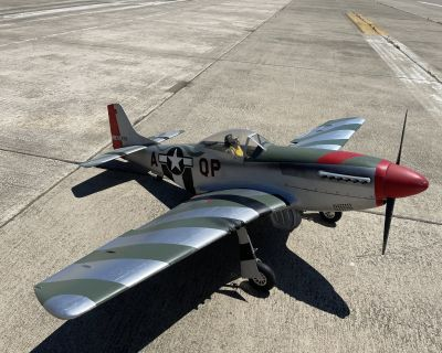 "Carf P-51 Mustang 100"" 1/4.3 3w80xi"