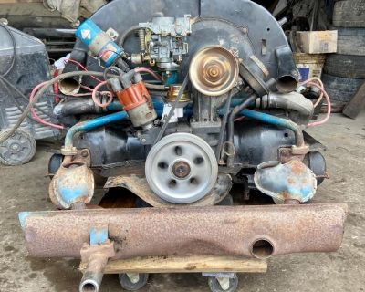 VW 1600 Dual-Port Beetle/Super-Beetle Motor