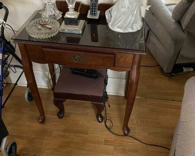 Telephone table and stool