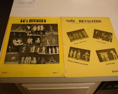 50's REVISITED ~ 2 Magazines !