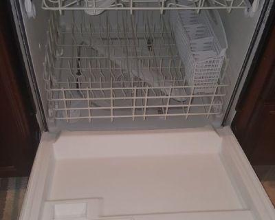 Automatic dishwasher black