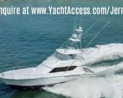 2002, 65' HATTERAS 65 CONVERTIBLE For Sale