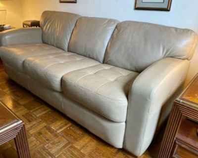 Leather Couch and Loveseat by La-Z-Boy