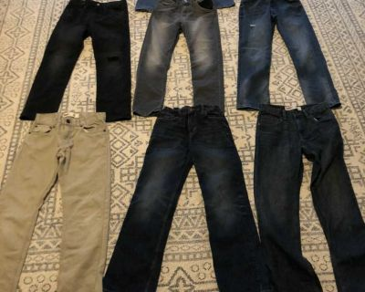 Boys jeans size 12 $6each or all for $35