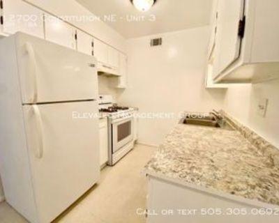 12700 Constitution Ave Ne #3, Albuquerque, NM 87112 1 Bedroom Apartment