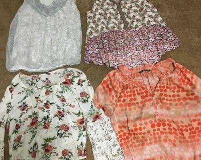4 ladies blouses
