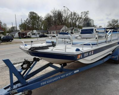 1990 Hurricane FunDeck 226