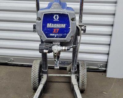 Graco magnum x7 airless sprayer