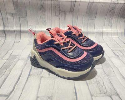 Osh Kosh B'Gosh Belair Athletic Sneaker Navy & Pink