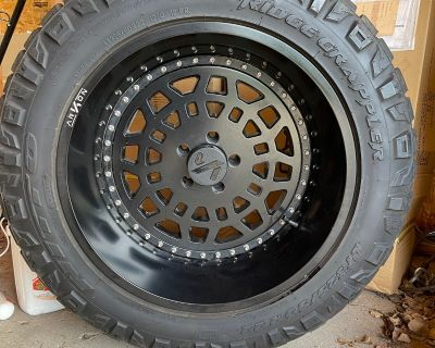 Colorado - Arkon Triumph 22x12 with tires