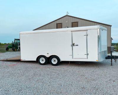 """101"""" x 18' 2014 H&H CA Series Enclosed Cargo Trailer"""