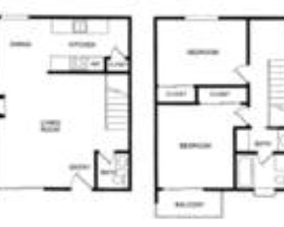Blue Hills West Apartments - 2-Bedroom, 1.5-Bath Townhouse