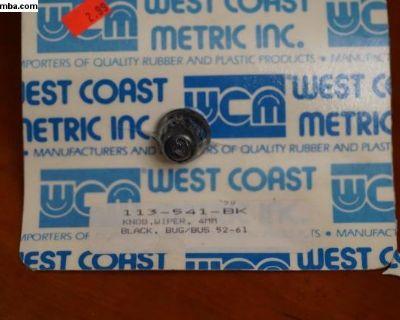 Knob Wiper 4mm (113 941 541 BK)