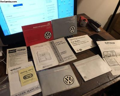 Vanagon Camper Syncro Owners Manuals Complete Set