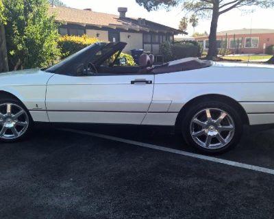 1992 Cadillac Allante, Pearl White, 205,000+ miles