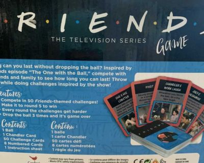 FRIENDS TELEVISION GAME