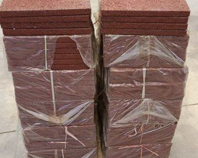 Rubber Outside/Inside Flooring in New Condition