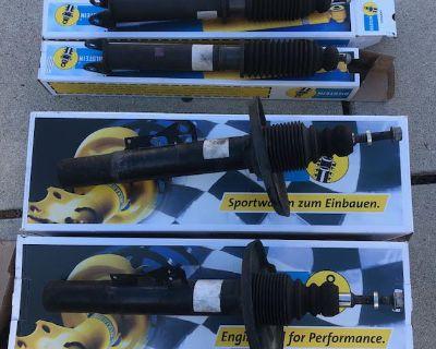 997 / 997.2 OEM Bilstein Front & Rear Shocks, Struts