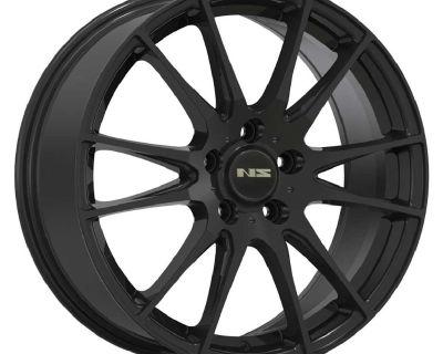 NS Series 1505 wheel set 17 inch 4x100/4.5 Matte Black