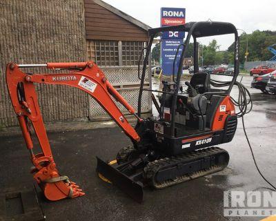 2011 Kubota KX41-3V Hydraulic Mini Excavator