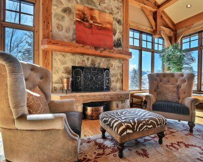 New Lisitng! Elegant Home Near Base of Deer Valley Resort with Game Room, Hot Tub and Mountain Views - Park City