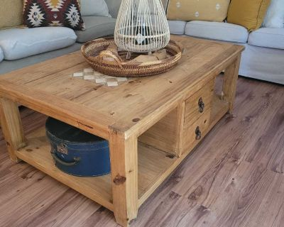 Rustic mexican coffee table