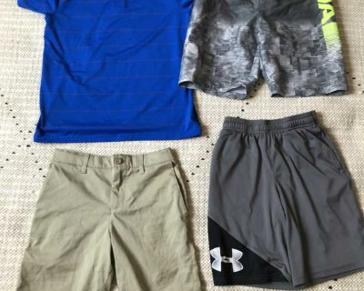 Underarmour youth boys clothes