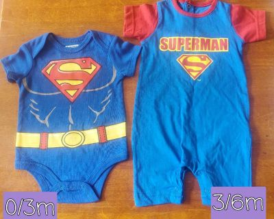 Baby superman clothes new w/o tags