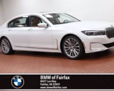 2021 BMW 7 Series 750i xDrive