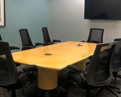 Private Meeting Room for 8 at Peachtree Offices at Alpharetta