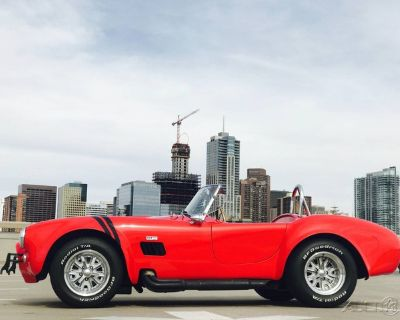 Titled as a 1962 with a Body of a 1965 Ford Shelby Cobra Replica Convertible