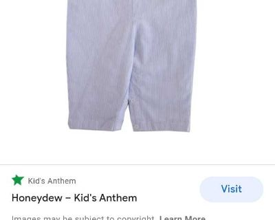 ISO: boys size 12-18m pumpkin smocks or rompers