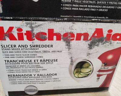 Brand new kitchen aid slicer