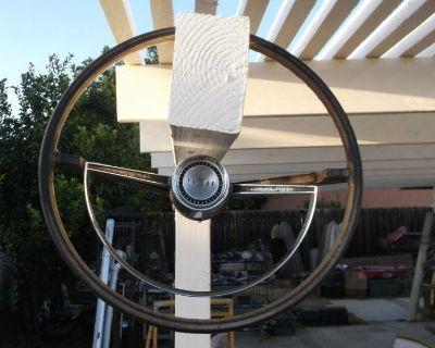 Falcon Sprint Futura Ranchero 1965 Steering Wheel And Horn Ring No Reserve