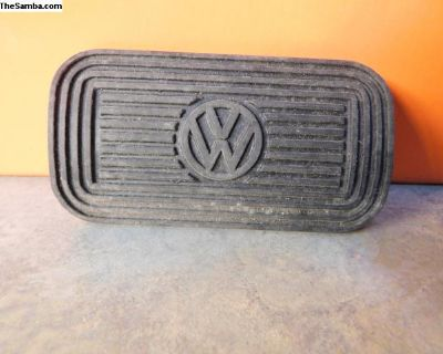 NOS Automatic Brake Pedal Pad with VW Logo